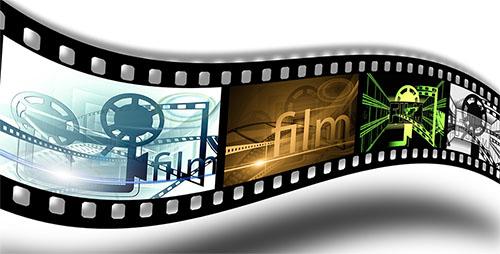 TV film collage